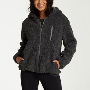 Billabong Switchback Sherpa Jacket - charcoal